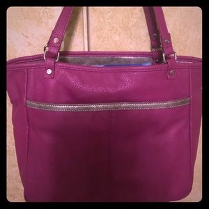 Thirty One Gifts Jewell Townsfair Reversible Tote